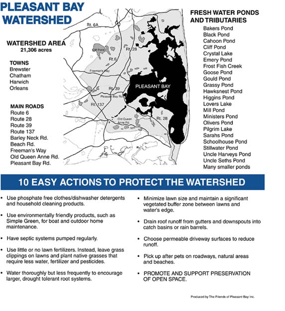 Activities to Protect Pleasant Bay